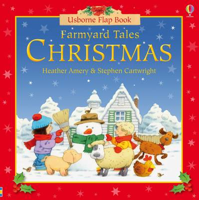 Farmyard Tales Christmas Flap Book and Jigsaw by Heather Amery