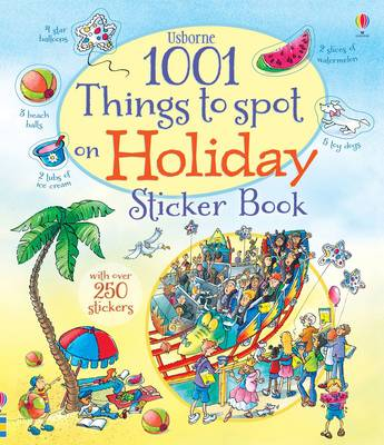 1001 Things to Spot on Holiday Sticker Book by Hazel Maskell
