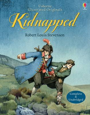 Cover for Kidnapped by Robert Louis Stevenson