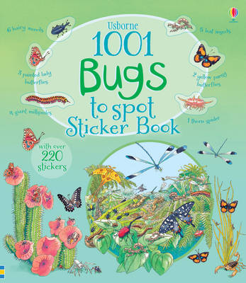 1001 Bugs to Spot Sticker Book by Emma Helbrough