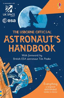 Cover for The Usborne Official Astronaut's Handbook by Louie Stowell
