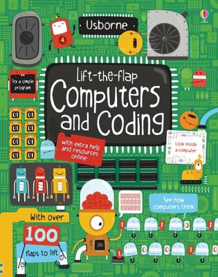Cover for Lift-the-Flap Computers and Coding by Rosie Dickins