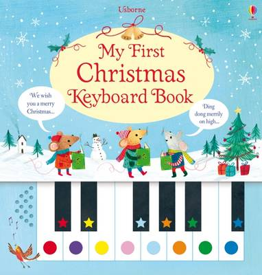 My First Christmas Keyboard Book by Sam Taplin