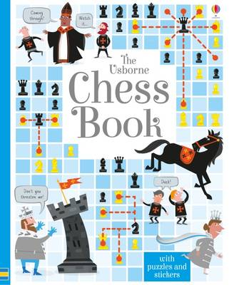 Cover for The Usborne Chess Book by Lucy Bowman