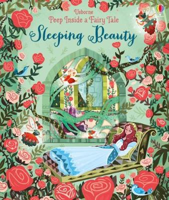Cover for Peep Inside a Fairy Tale Sleeping Beauty by Anna Milbourne