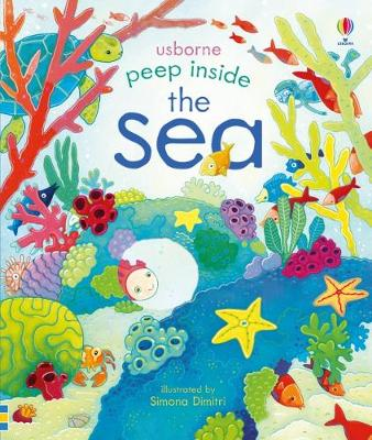 Cover for Peep Inside The Sea by Anna Milbourne