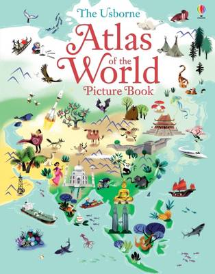 Atlas of the World Picture Book by Sam Baer