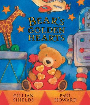 Cover for Bear's Golden Hearts by Gillian Shields