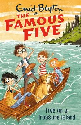 Cover for Five on a Treasure Island by Enid Blyton