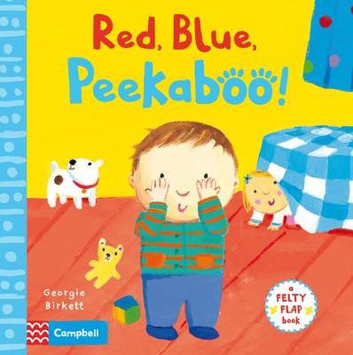 Red, Blue, Peekaboo by Georgie Birkett