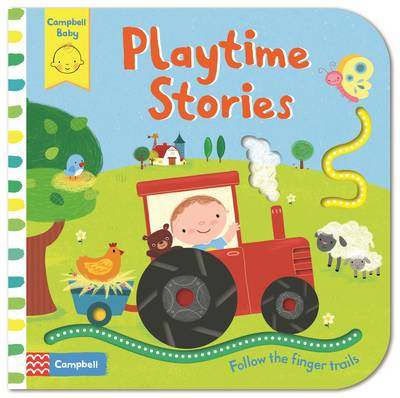 Playtime Stories Baby's First Storybook: Follow the Finger Trails by Luana Rinaldo