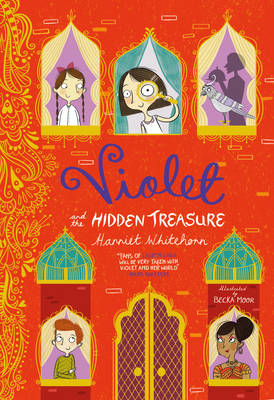 Cover for Violet and the Hidden Treasure by Harriet Whitehorn