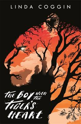 Cover for The Boy with the Tiger's Heart by Linda Coggin