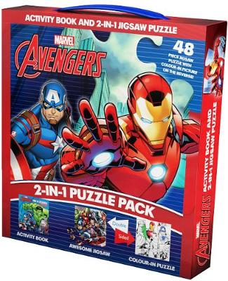 Marvel Avengers 2-in-1 Puzzle Pack Activity Book and 2-in-1 Jigsaw Puzzle by Parragon Books Ltd