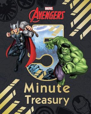 Cover for Marvel Avengers 5-Minute Treasury by Various