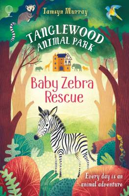 Cover for Baby Zebra Rescue by Tamsyn Murray