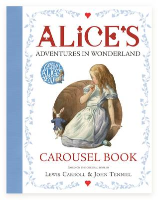 Cover for Alice's Adventures in Wonderland Carousel Book by Lewis Carroll