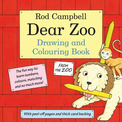 Cover for The Dear Zoo Drawing and Colouring Book by Rod Campbell
