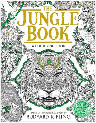 The Macmillan Jungle Book - A Colouring Book by Rudyard Kipling