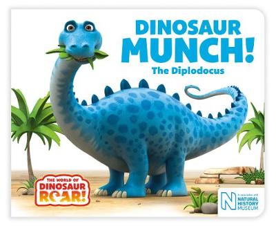 Cover for Dinosaur Munch! The Diplodocus by Jeanne Willis