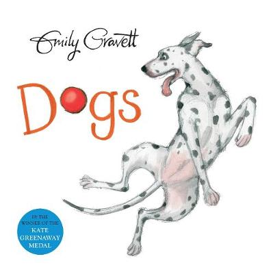 Cover for Dogs by Emily Gravett