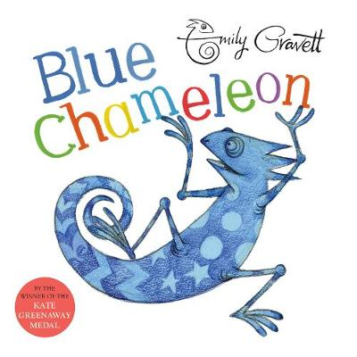 Cover for Blue Chameleon by Emily Gravett