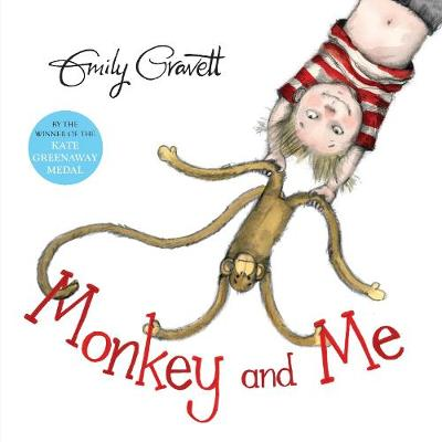 Cover for Monkey and Me by Emily Gravett