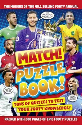 Cover for Match! Football Puzzles by Match