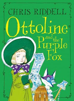 Cover for Ottoline and the Purple Fox by Chris Riddell