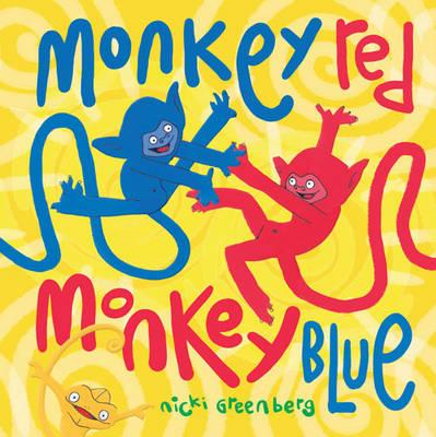 Monkey Red, Monkey Blue by Nicki Greenberg