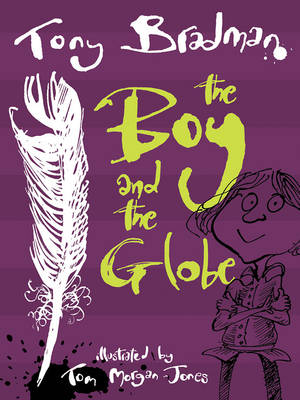 Cover for The Boy and the Globe by Tony Bradman