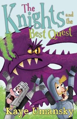Cover for The Knights and the Best Quest by Kaye Umansky