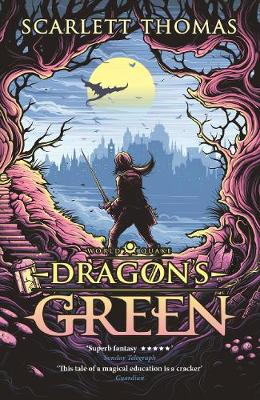 Cover for Dragon's Green Worldquake Book One by Scarlett Thomas