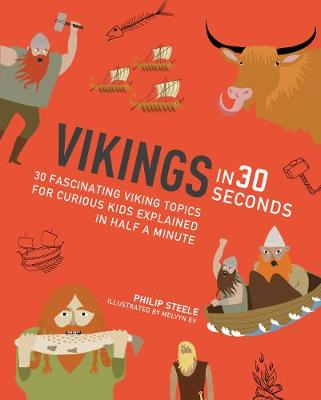 Cover for Vikings in 30 Seconds by Philip Steele