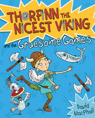 Cover for Thorfinn and the Gruesome Games by David MacPhail