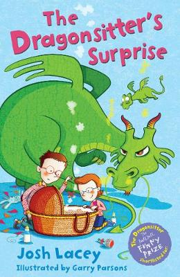 Cover for The Dragonsitter's Surprise by Josh Lacey