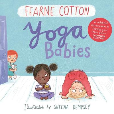 Cover for Yoga Babies by Fearne Cotton