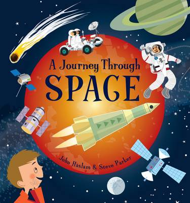 Cover for A Journey Through: Space by Steve Parker