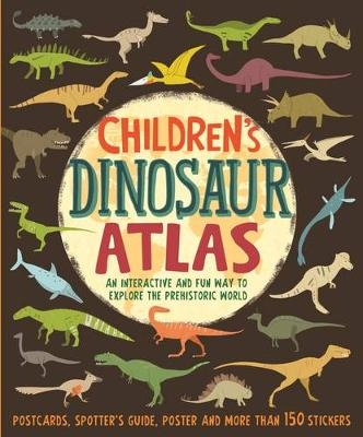 Cover for Children's Dinosaur Atlas by John Malam