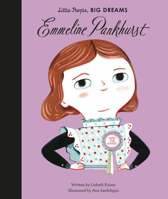 Cover for Emmeline Pankhurst by Lisbeth Kaiser