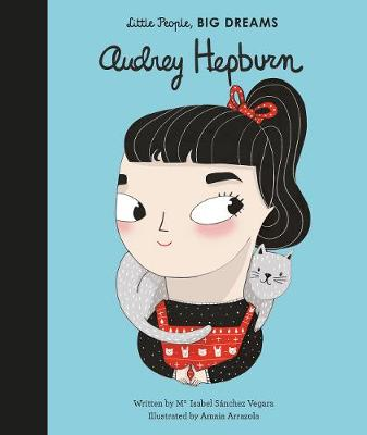 Book Cover for Audrey Hepburn by Isabel Sanchez Vegara