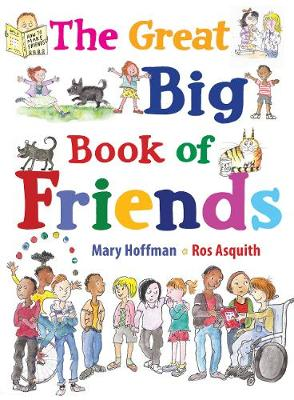 Cover for The Great Big Book of Friends by Mary Hoffman