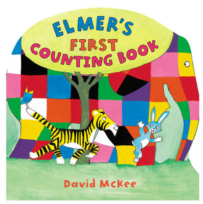 Elmer's First Counting Book by David McKee