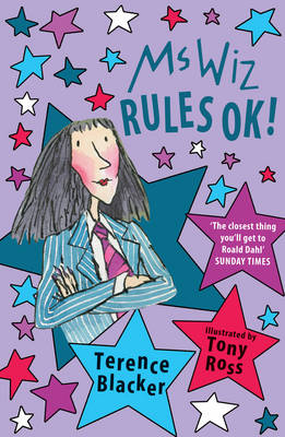 Cover for Ms Wiz RULES OK! by Terence Blacker