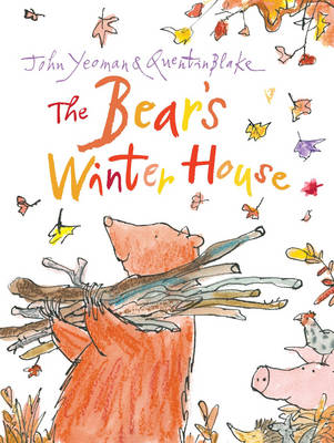 Cover for The Bear's Winter House by John Yeoman, Quentin Blake