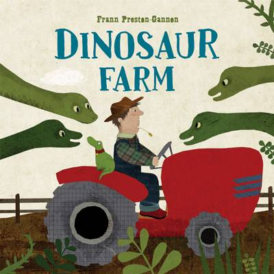 Dinosaur Farm Boxed Book, Plush Toy and Game by Frann Preston-Gannon