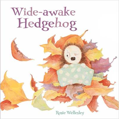Wide-Awake Hedgehog by Rosie Wellesley