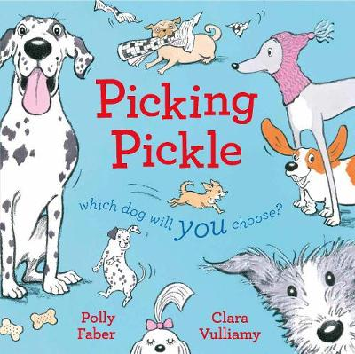 Cover for Picking Pickle by Polly Faber