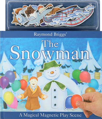 The Snowman Magical Magnetic Playscene by Raymond Briggs