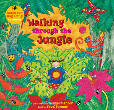 Cover for Walking Through the Jungle by Stella Blackstone